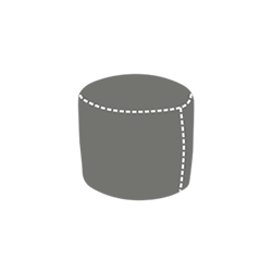 Buffo beanbag pouf