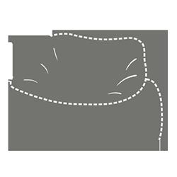 Jumbo babzsákkanapé