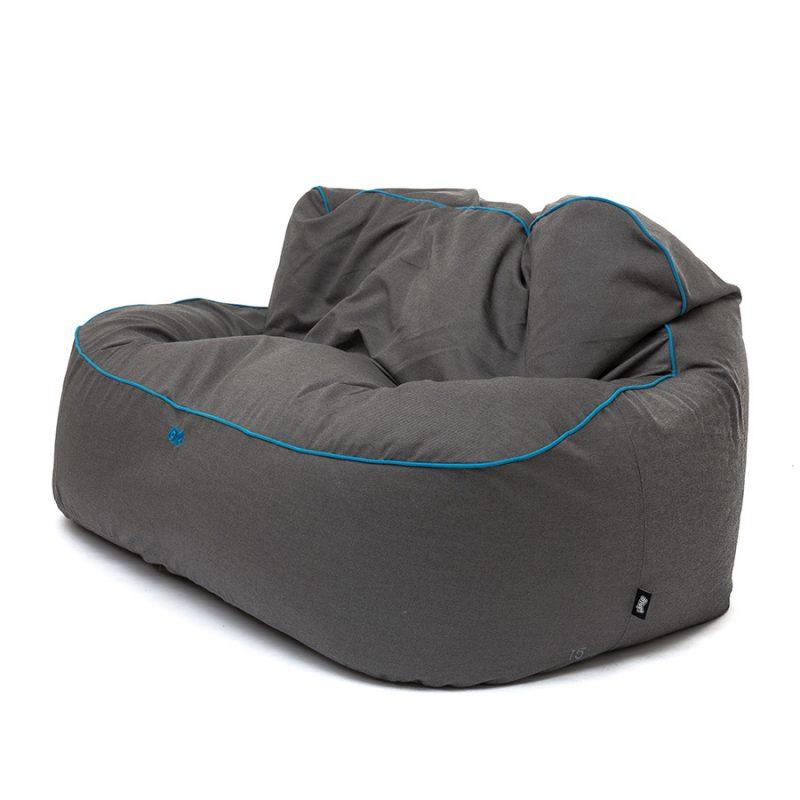 Jumbo DLX sofa / SUNBRELLA Ash 37