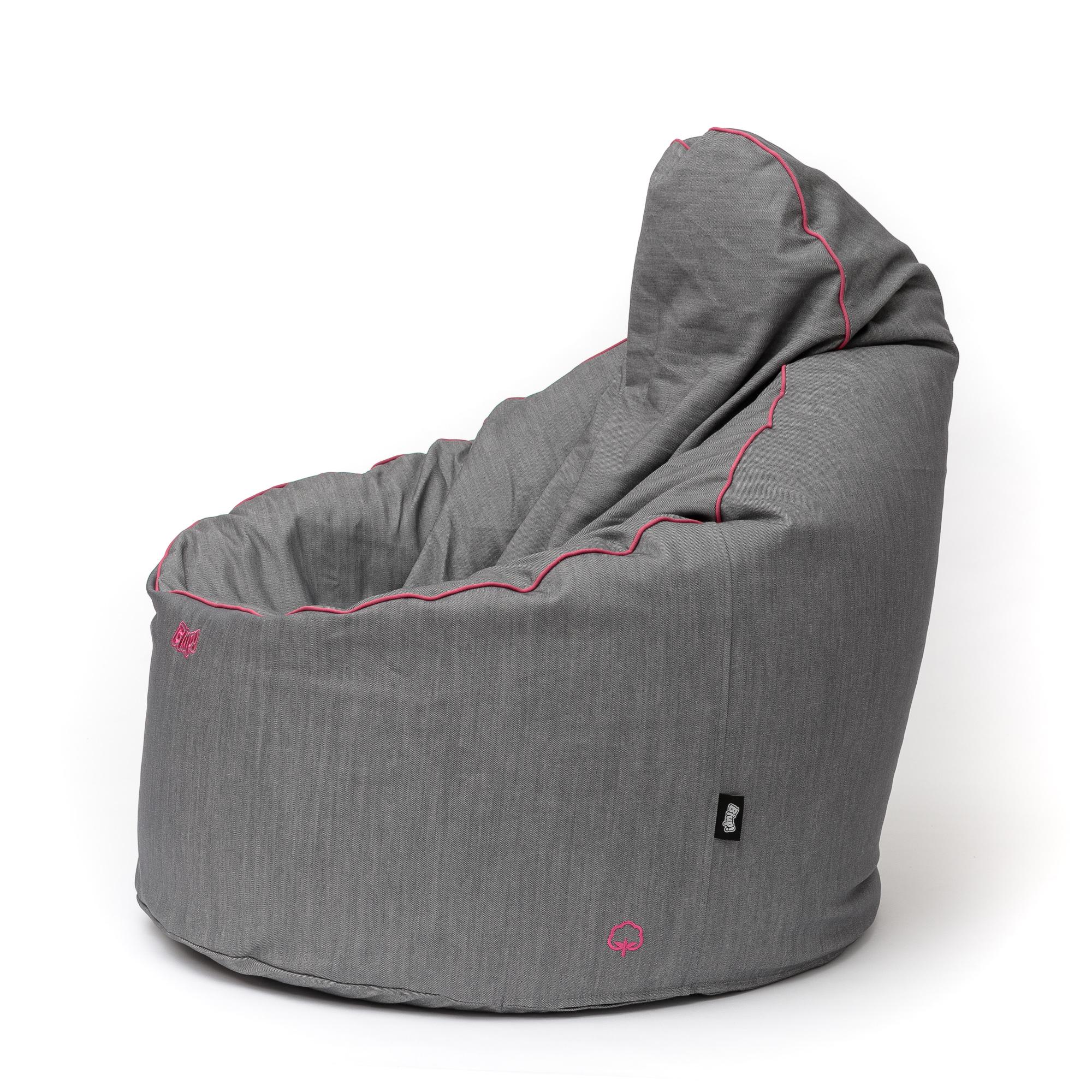 Idea babzsákfotel / PAMUT mák PAS pink