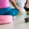 Yogapillow meditation pillow / round shape