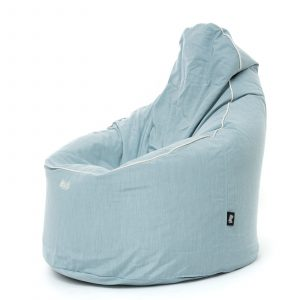 Idea / SUNBRELLA 3793 Mineral Blue Chiné PAS